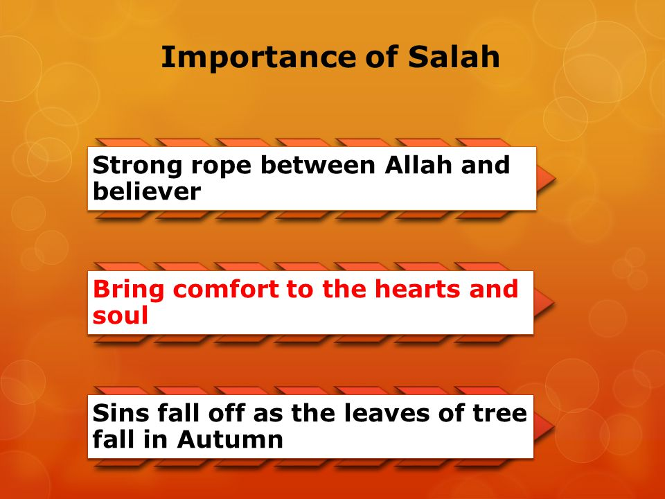 Importance of Salah Strong rope between Allah and believer