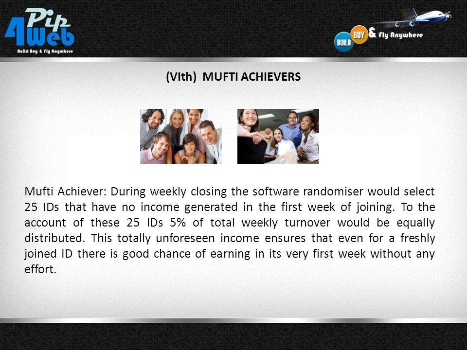 (VIth) MUFTI ACHIEVERS