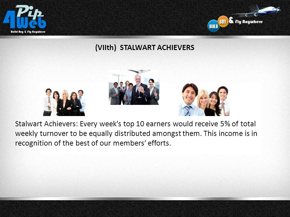 (VIIth) STALWART ACHIEVERS