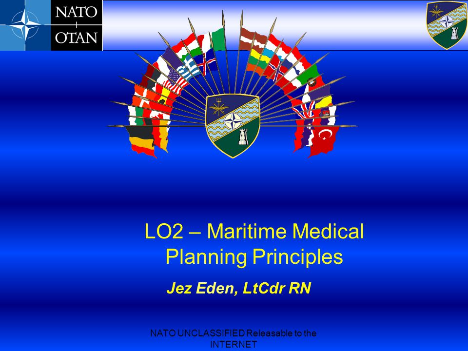 LO2 – Maritime Medical Planning Principles