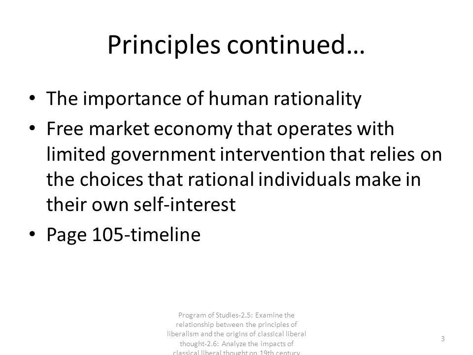 Principles continued…