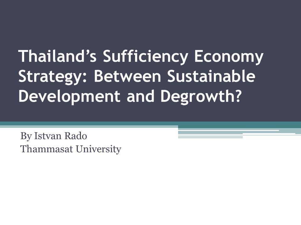 By Istvan Rado Thammasat University