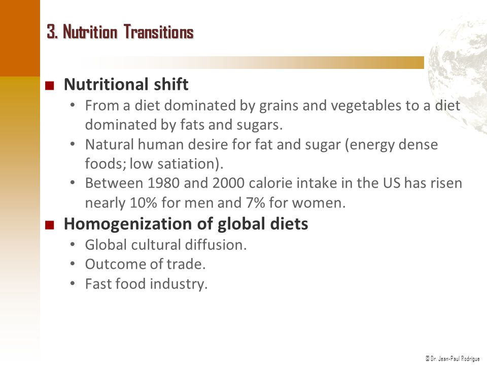 3. Nutrition Transitions