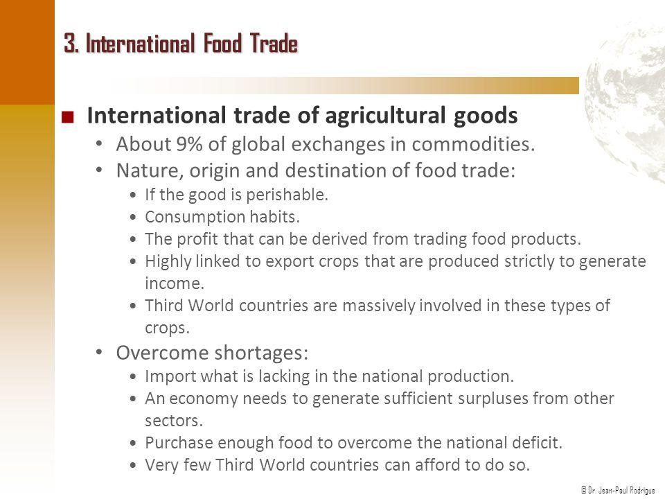 3. International Food Trade