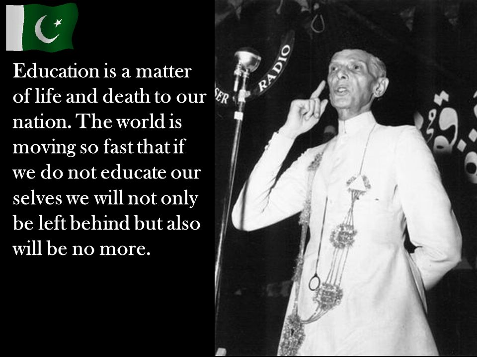 Education is a matter of life and death to our nation