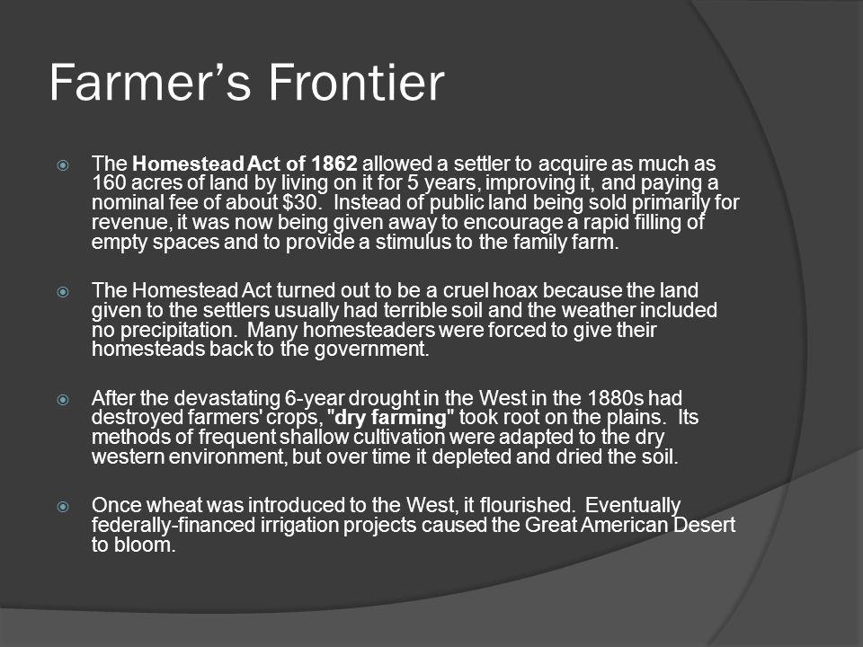 Farmer's Frontier