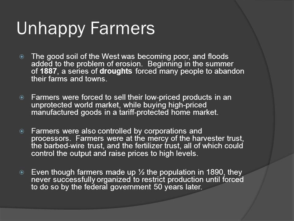 Unhappy Farmers