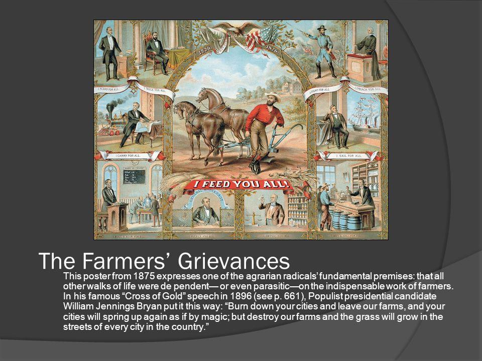 The Farmers' Grievances