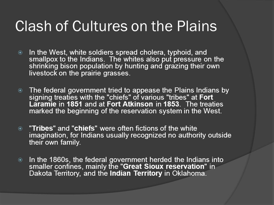 Clash of Cultures on the Plains