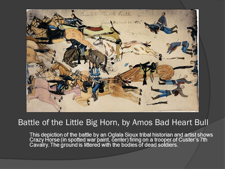 Battle of the Little Big Horn, by Amos Bad Heart Bull