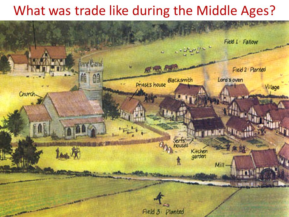 What was trade like during the Middle Ages