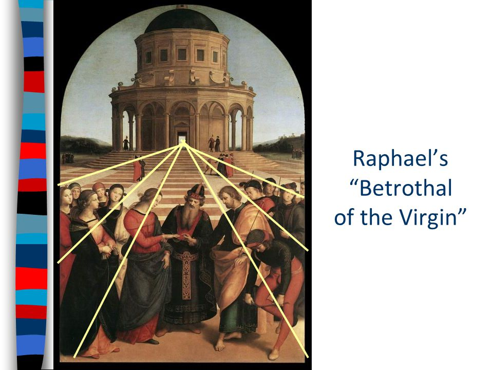 Raphael's Betrothal of the Virgin