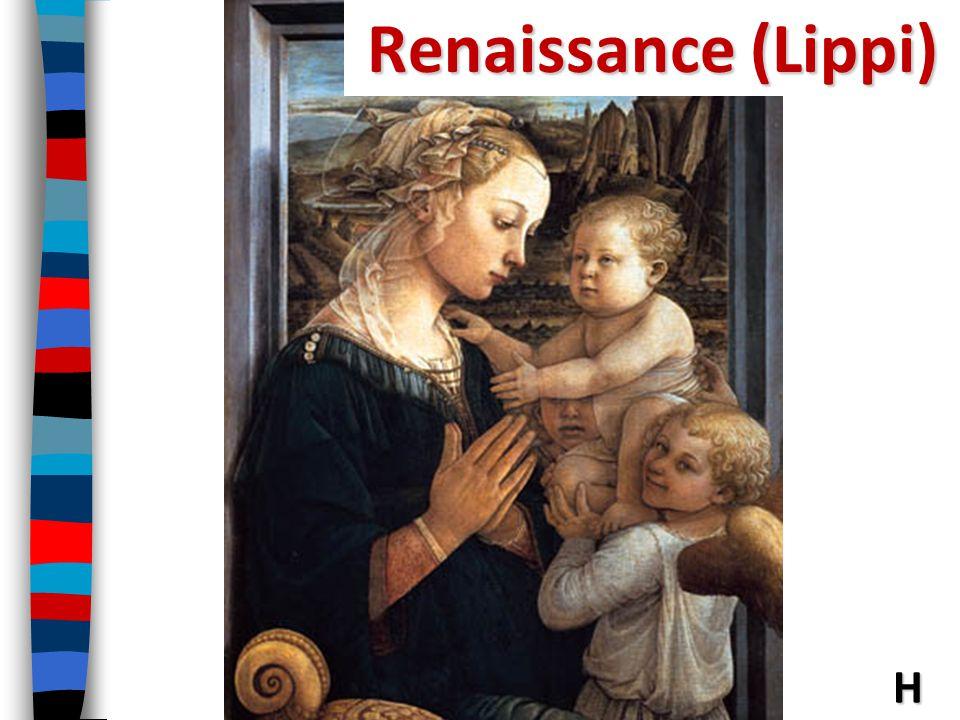 Renaissance (Lippi) Lippi—(Madonna with Child and Angels)--Renaissance H
