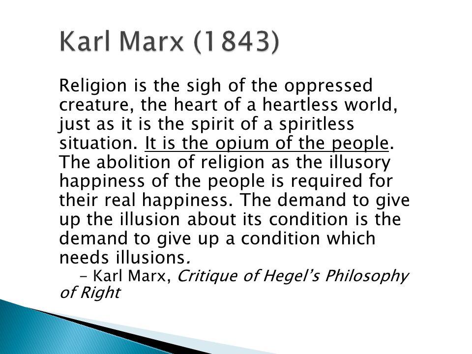 Karl Marx (1843)