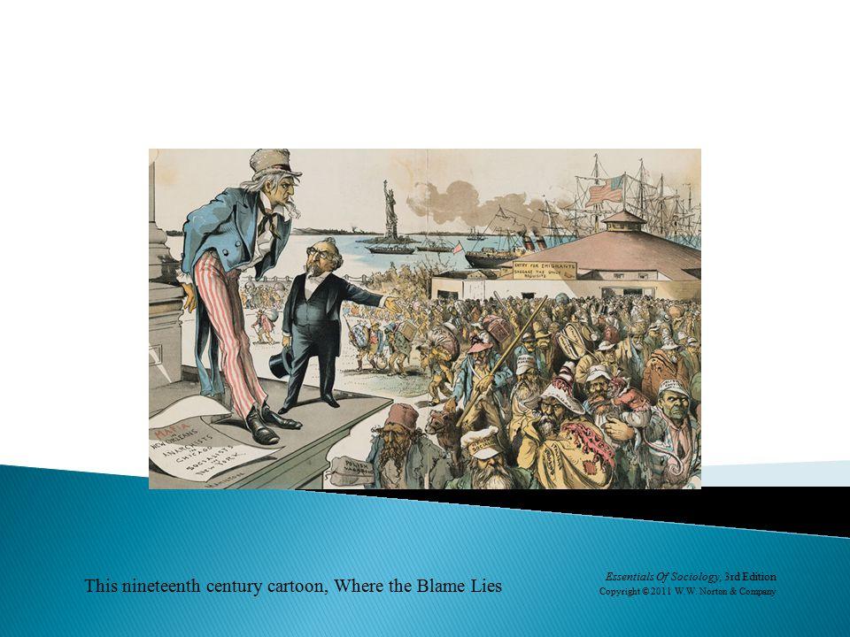 This nineteenth century cartoon, Where the Blame Lies