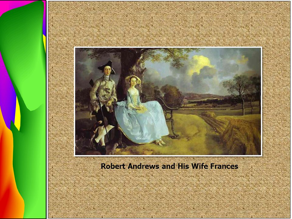 Robert Andrews and His Wife Frances