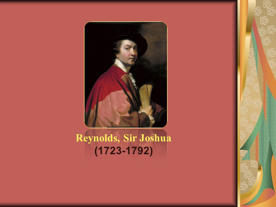 Reynolds, Sir Joshua (1723-1792)