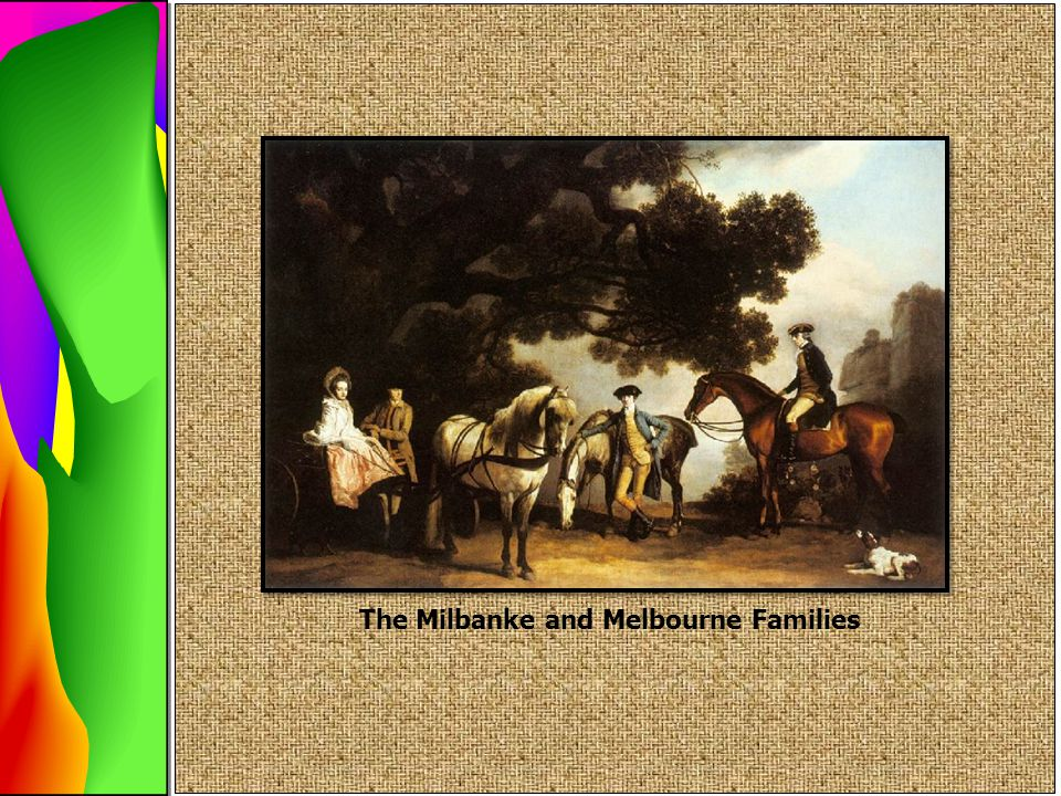 The Milbanke and Melbourne Families