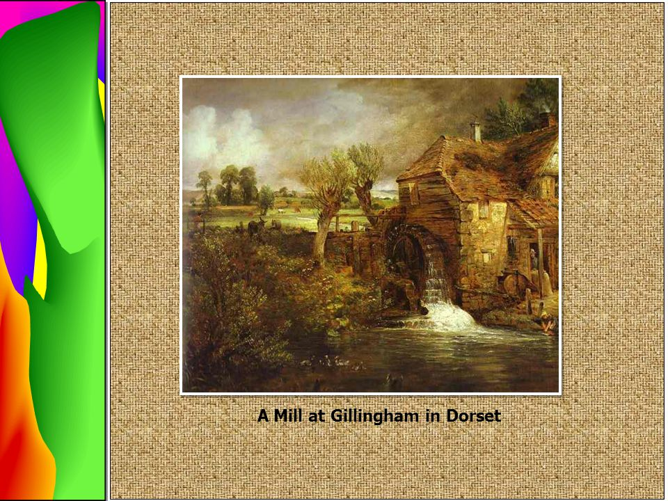 A Mill at Gillingham in Dorset