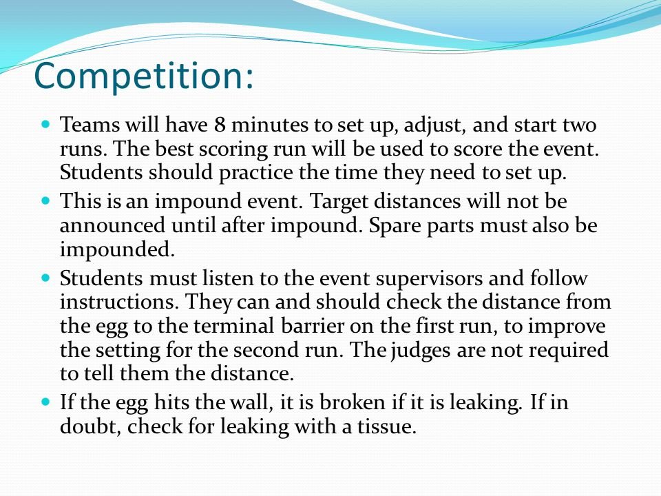 Competition: