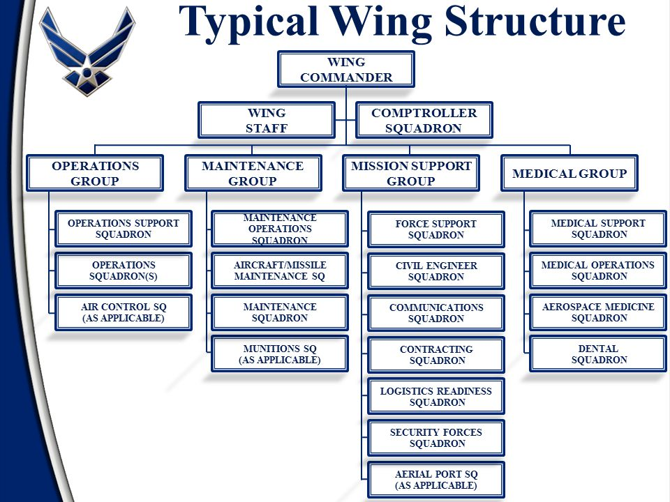 Typical Wing Structure