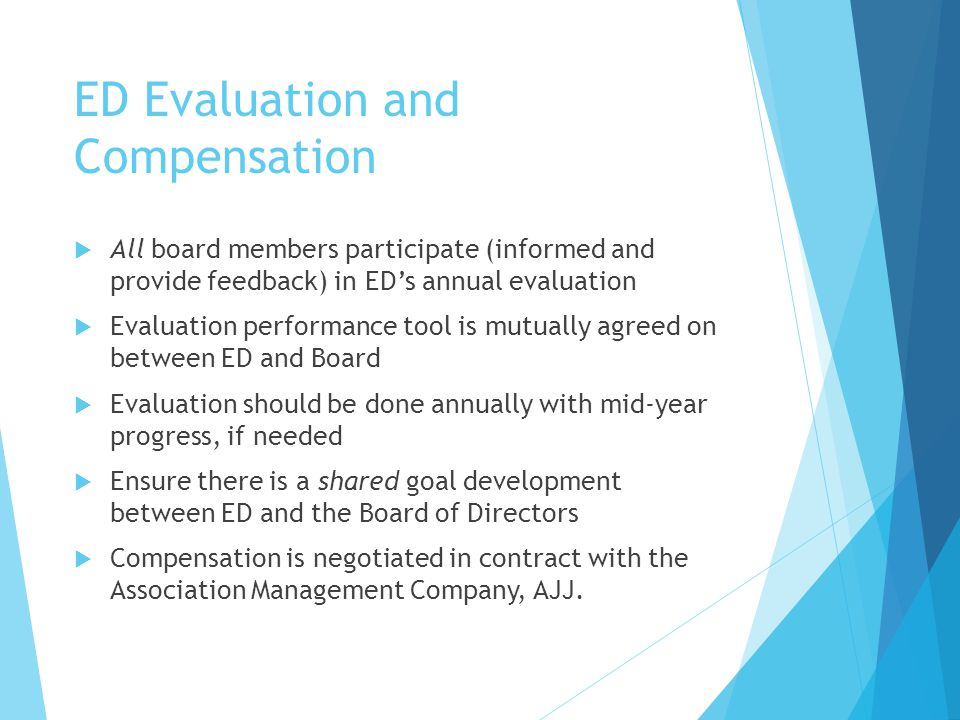 ED Evaluation and Compensation