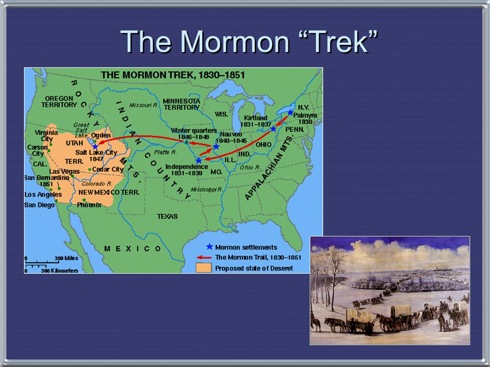 The Mormon Trek