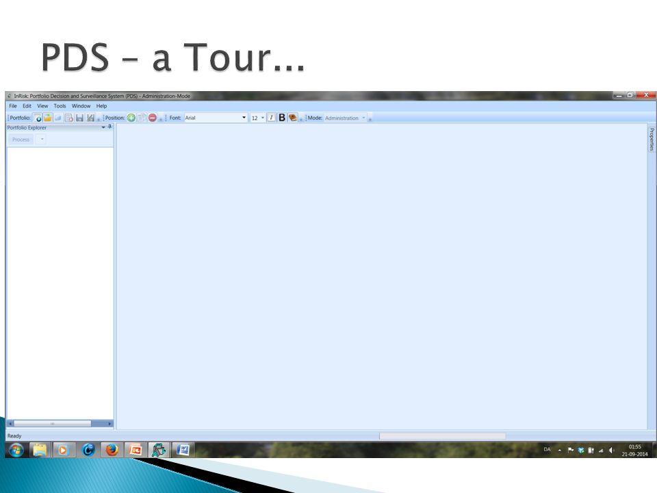 PDS – a Tour...