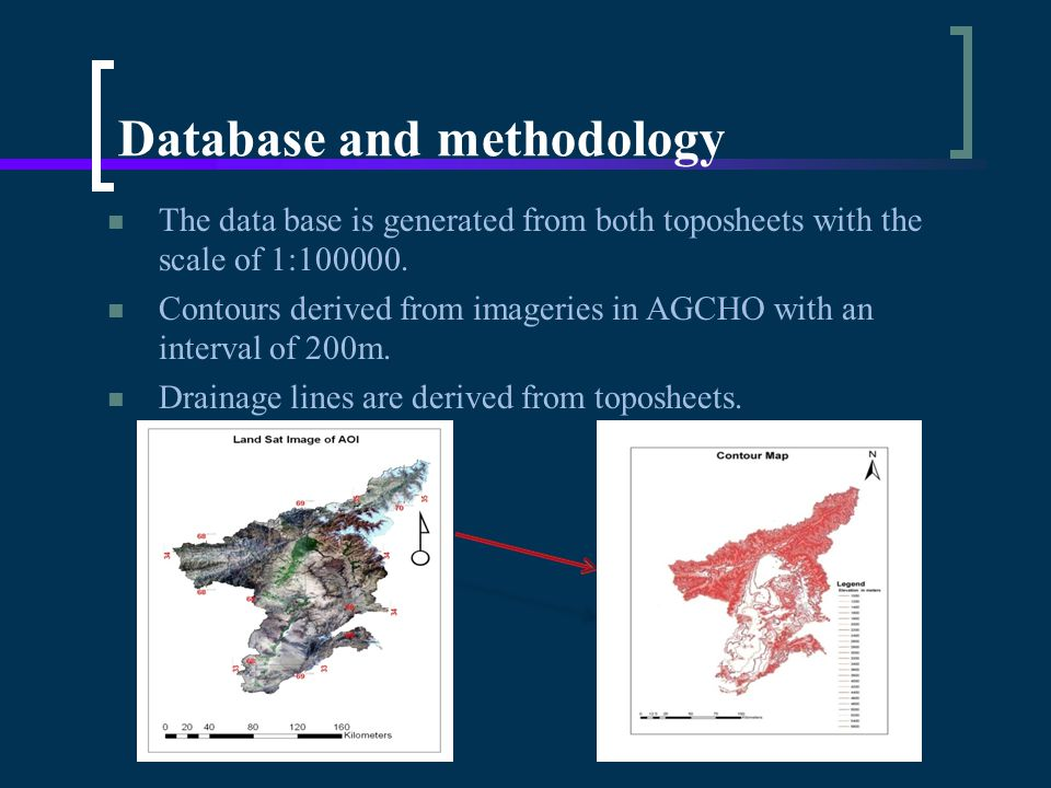 Database and methodology