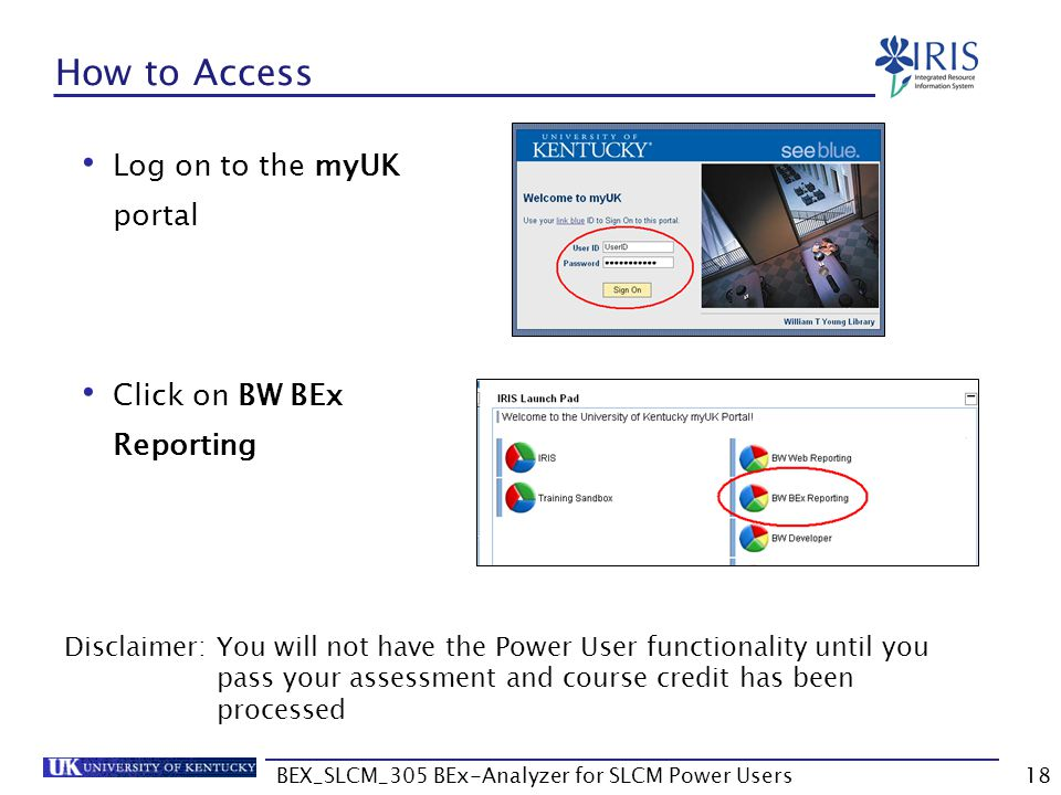 BEX_SLCM_305 BEx-Analyzer for SLCM Power Users