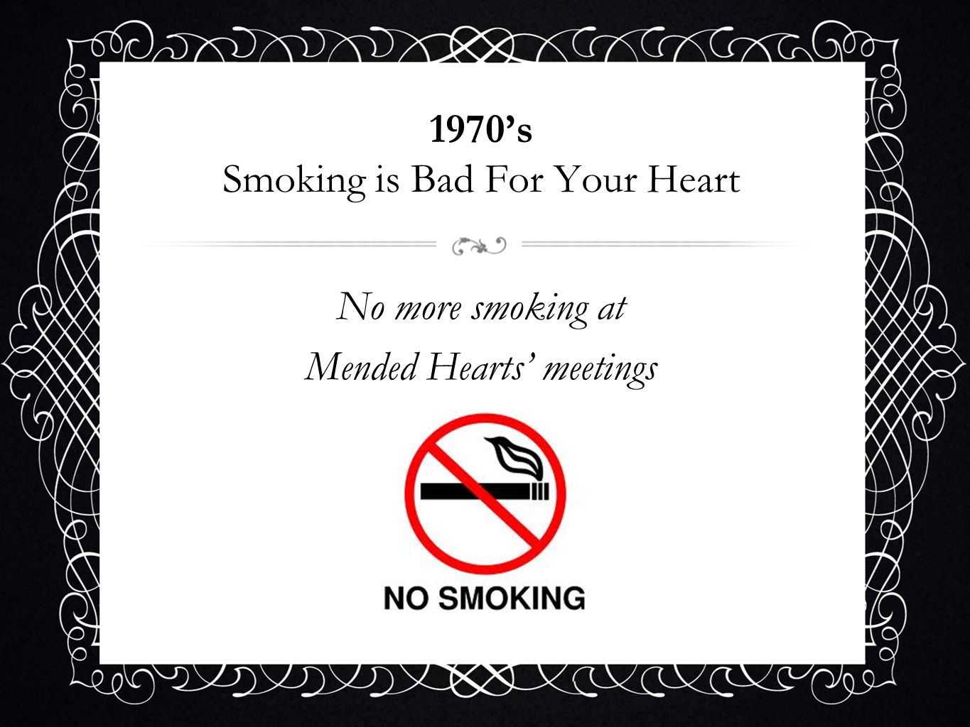 1970's Smoking is Bad For Your Heart