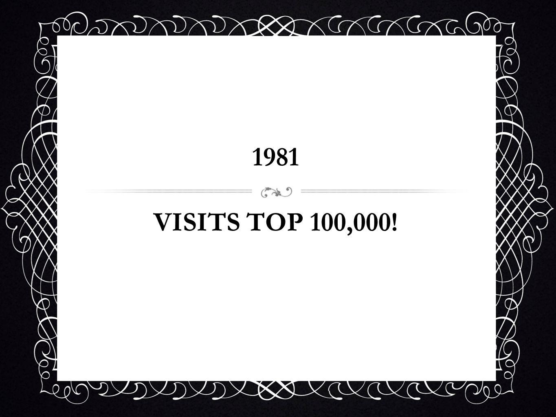 1981 VISITS TOP 100,000!