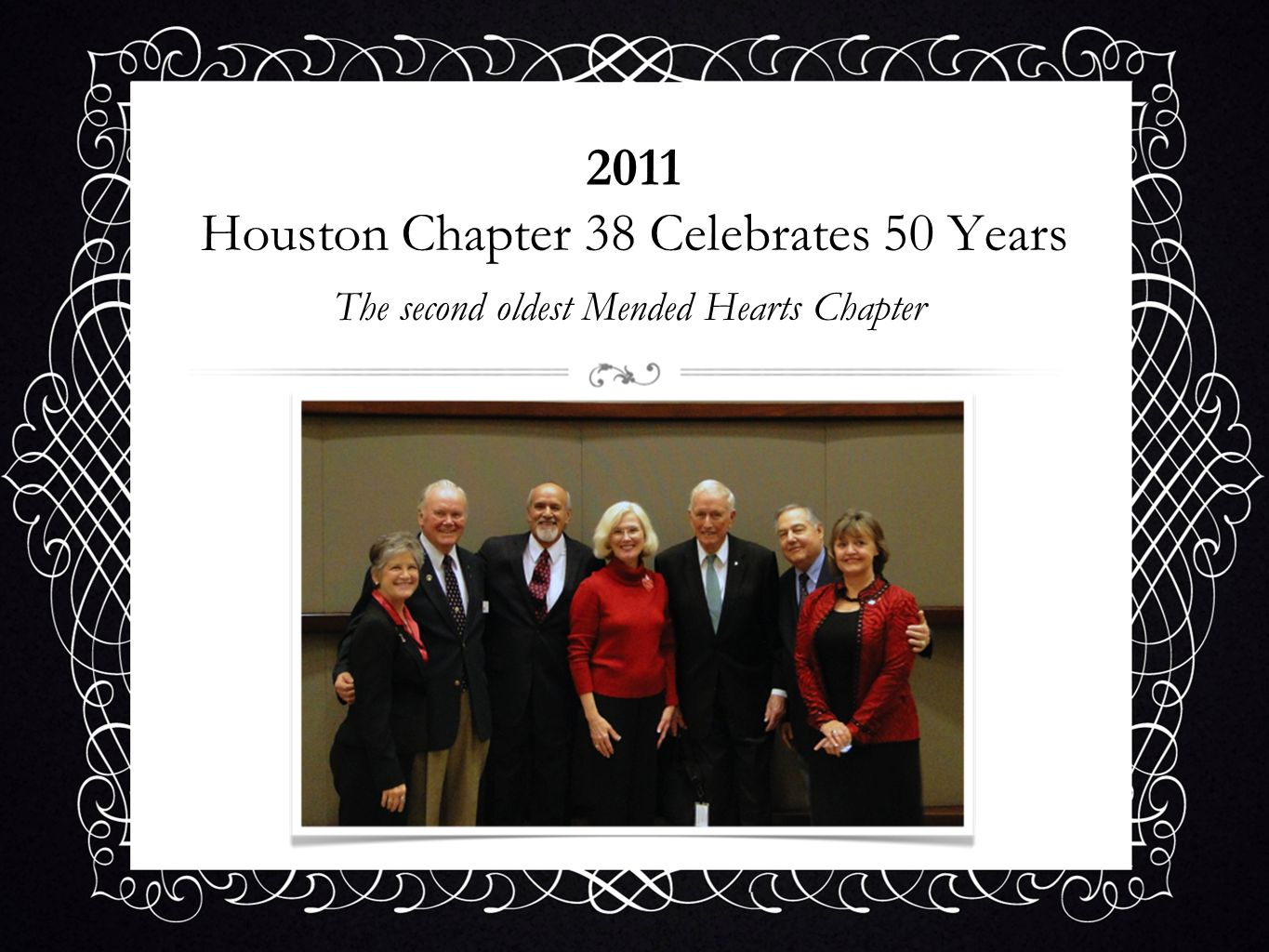 2011 Houston Chapter 38 Celebrates 50 Years