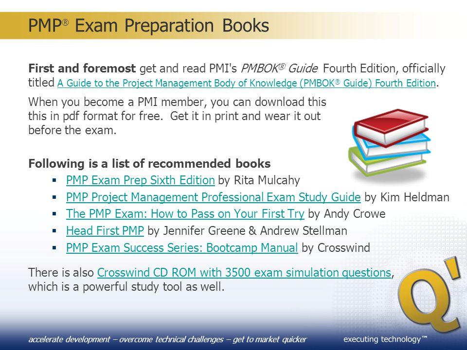 PMP® Exam Preparation Books