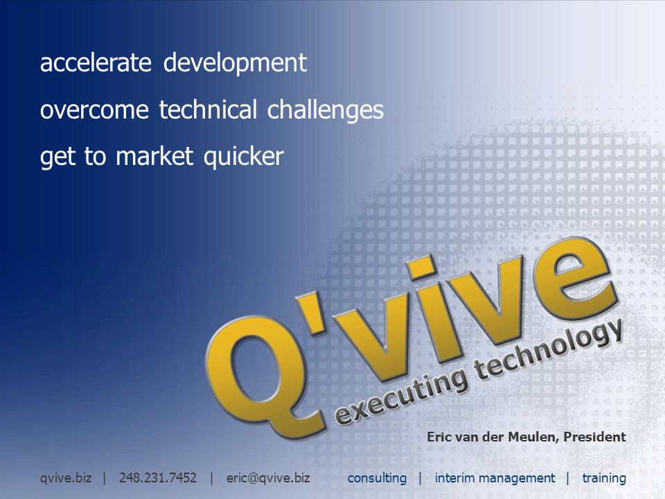 accelerate development overcome technical challenges