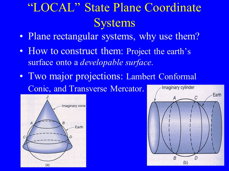 LOCAL State Plane Coordinate Systems
