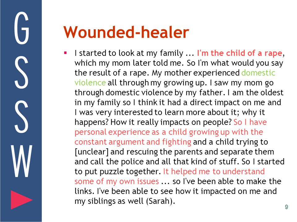 Wounded-healer