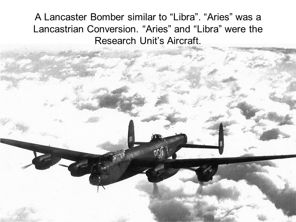 A Lancaster Bomber similar to Libra