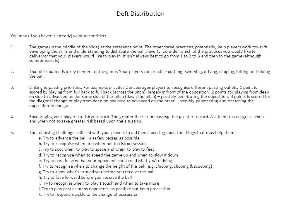 Deft Distribution You may (if you haven't already) want to consider: