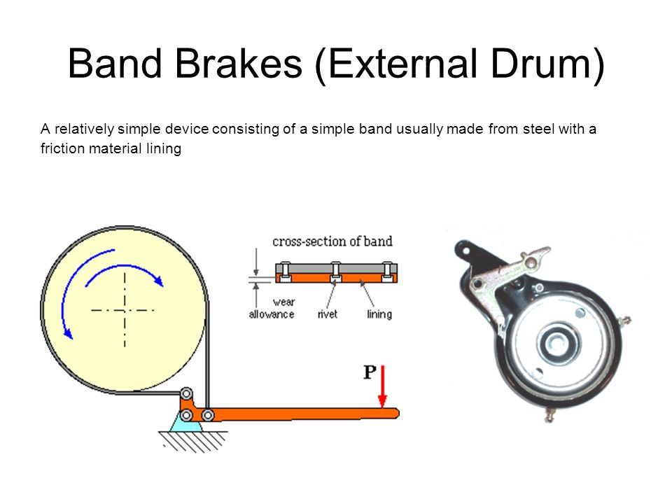 Band Brakes (External Drum)