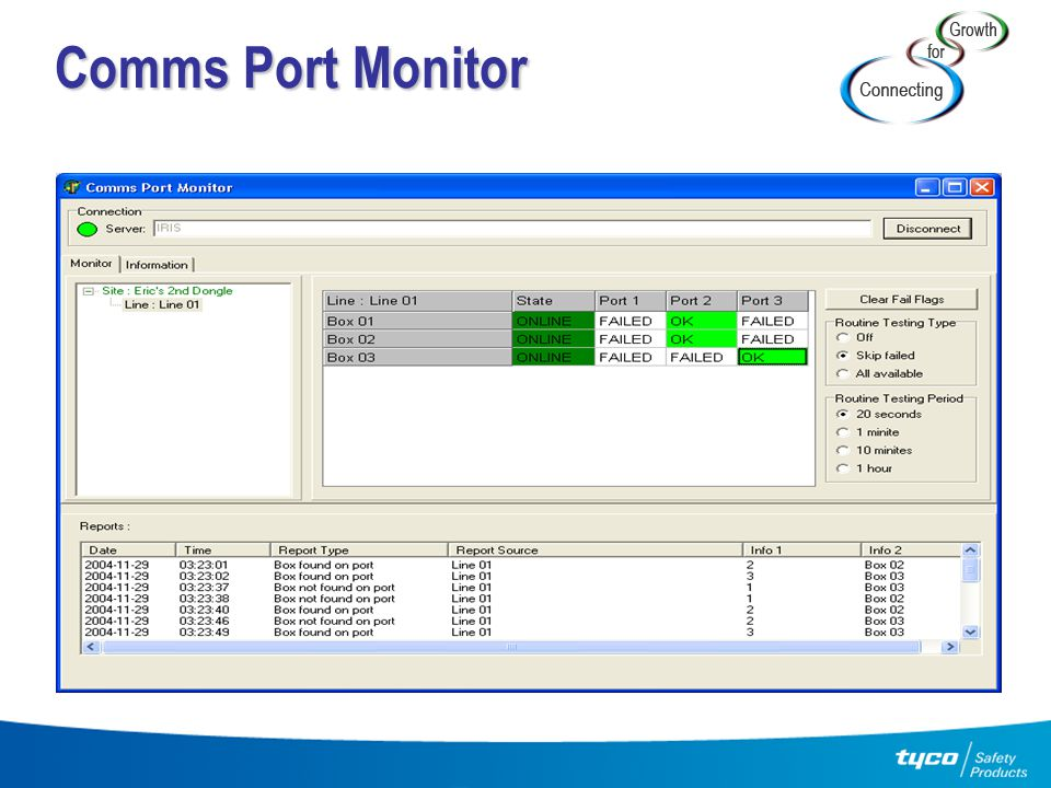 Comms Port Monitor