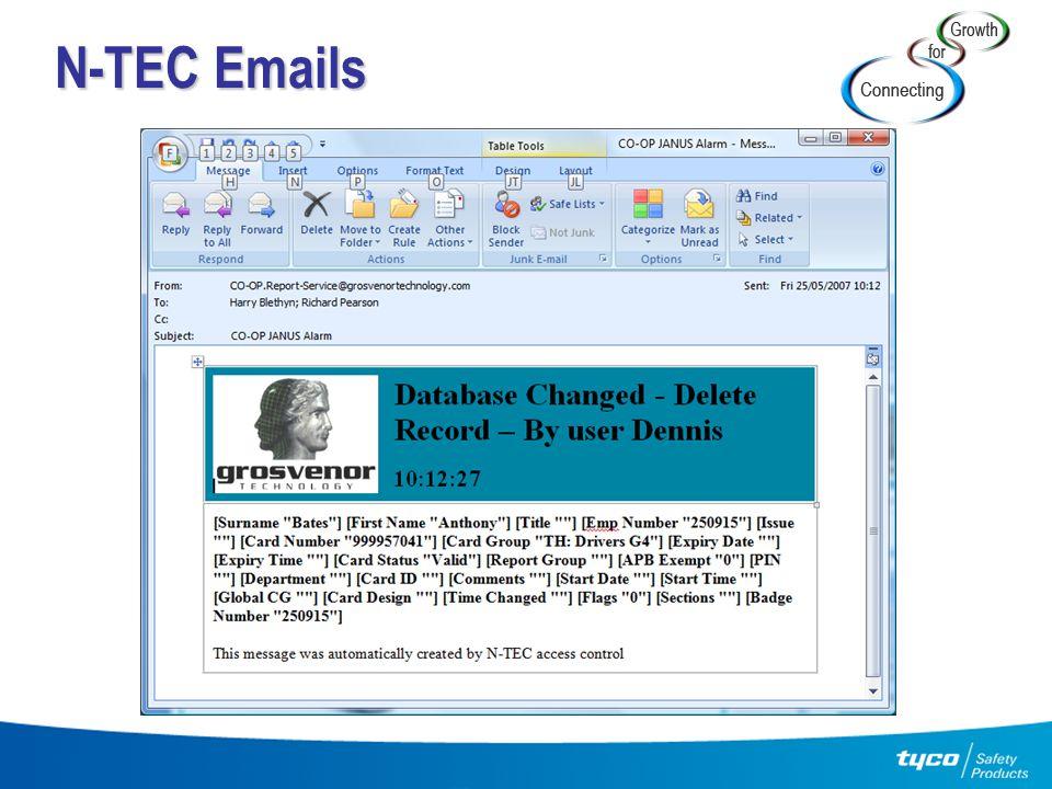 N-TEC Emails