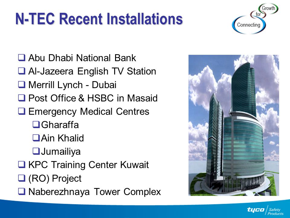 N-TEC Recent Installations