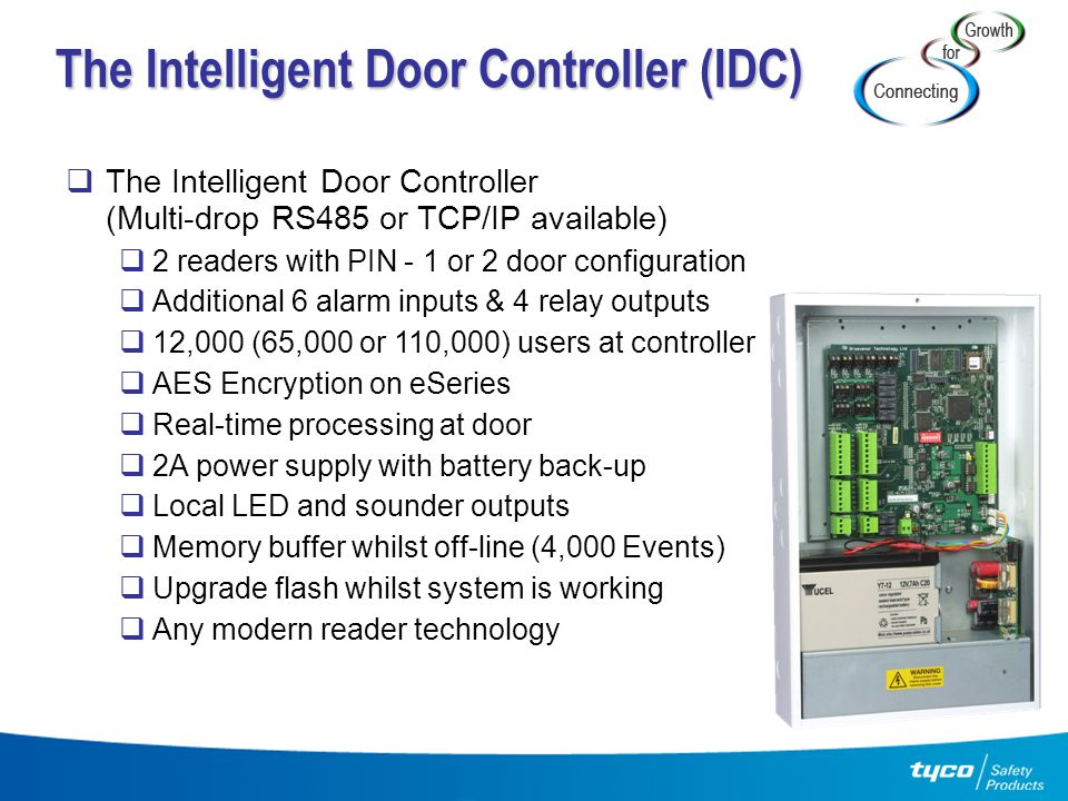 The Intelligent Door Controller (IDC)