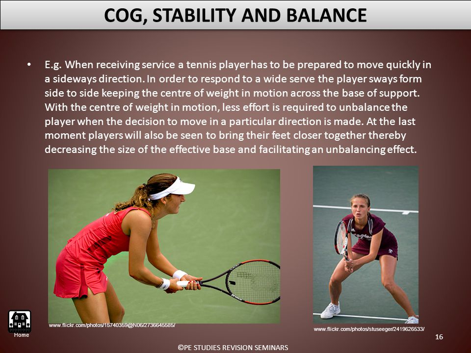 COG, STABILITY AND BALANCE