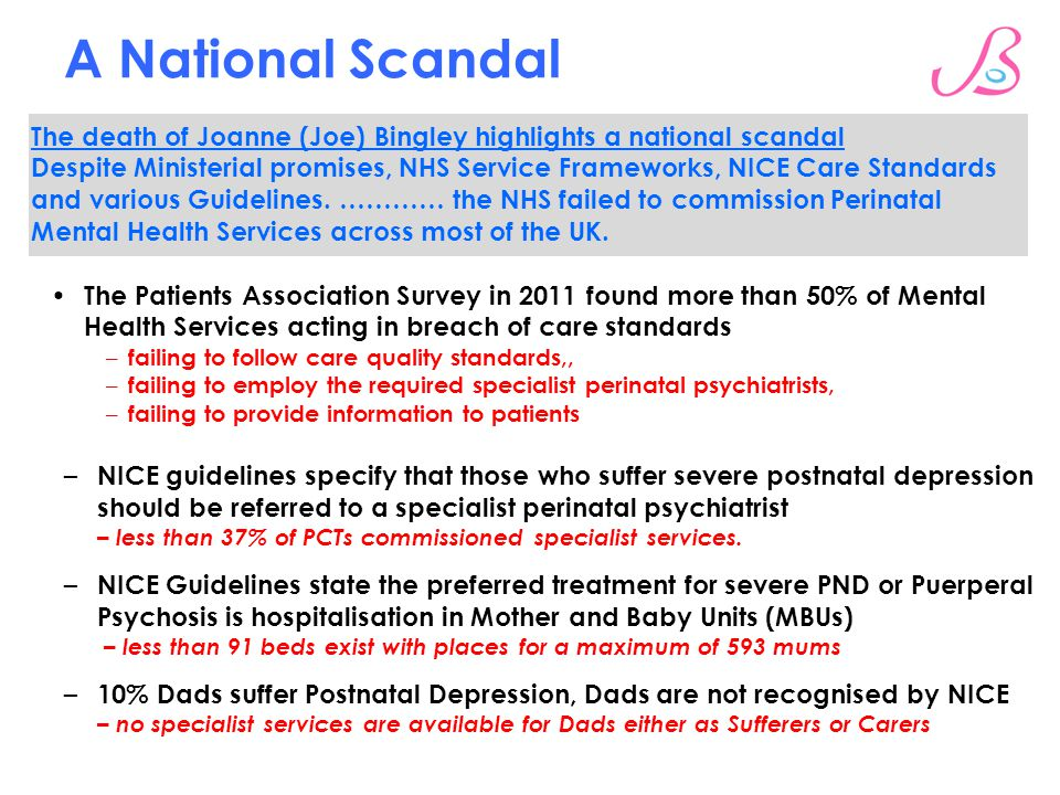 A National Scandal Our Vision