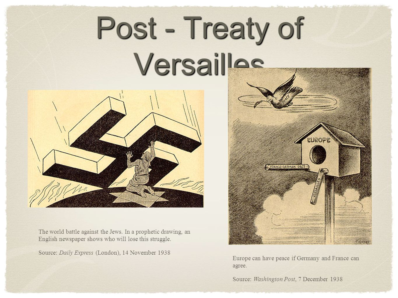 Post - Treaty of Versailles