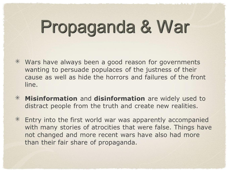 Propaganda & War