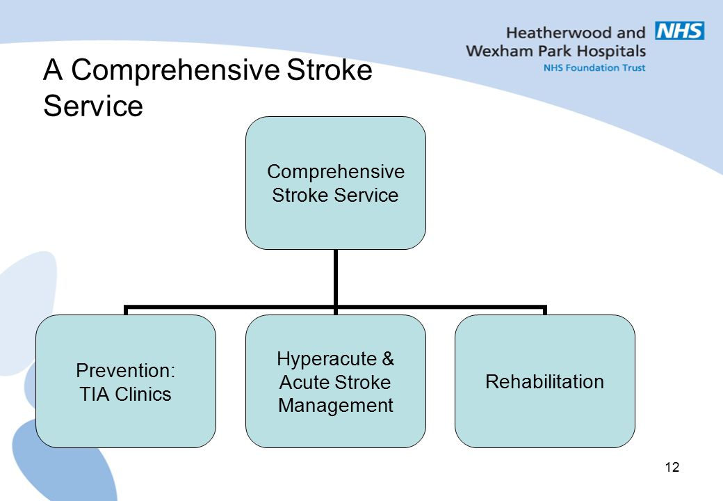 A Comprehensive Stroke Service