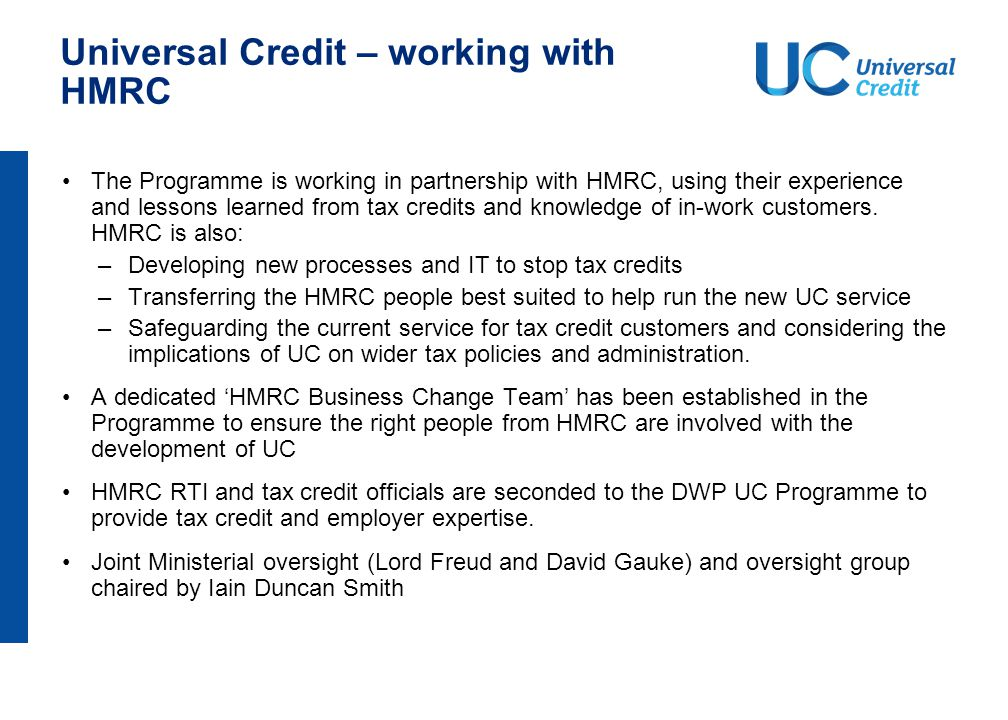 Universal Credit - working with Scotland